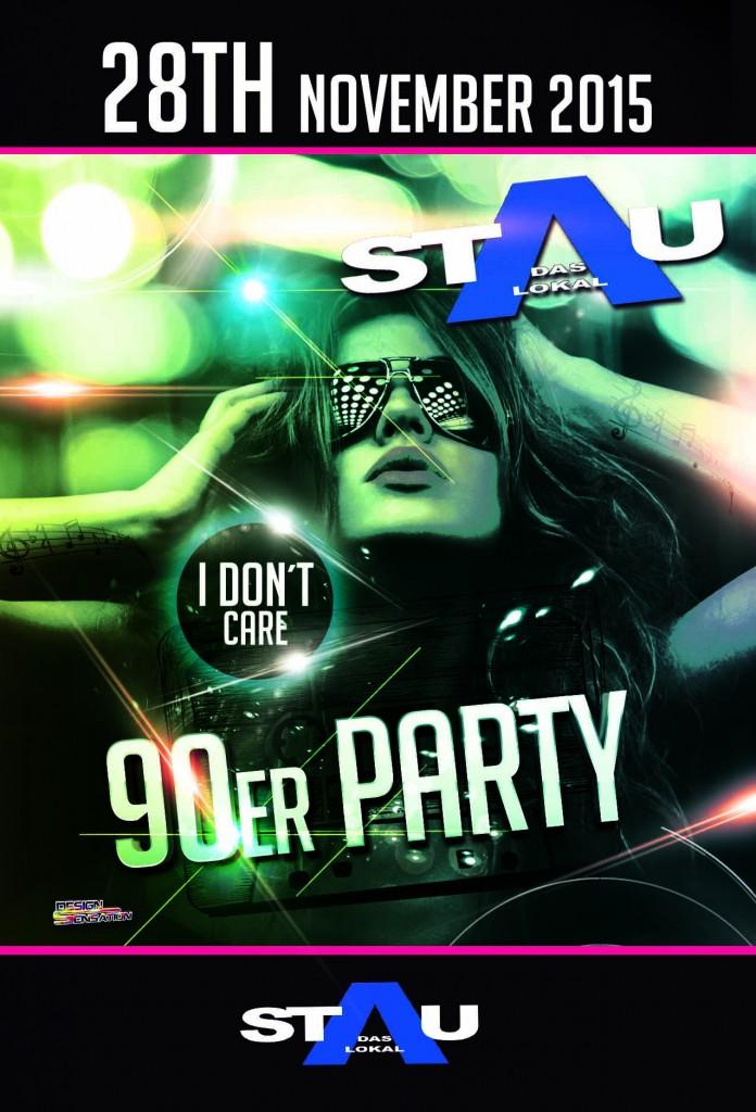 Stau_90er_Party