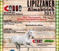 Lipizzaner Almabtrieb 2017