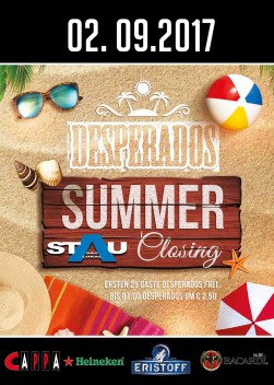 Desperados Summer Closing