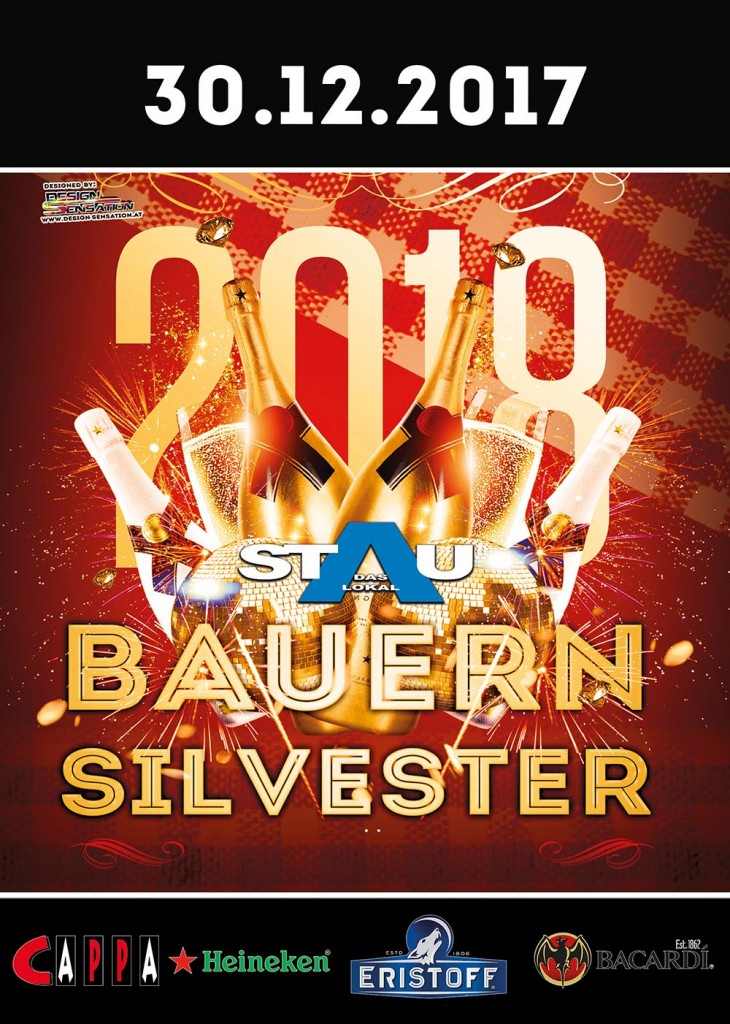 BauernSilvester Party Stau2018