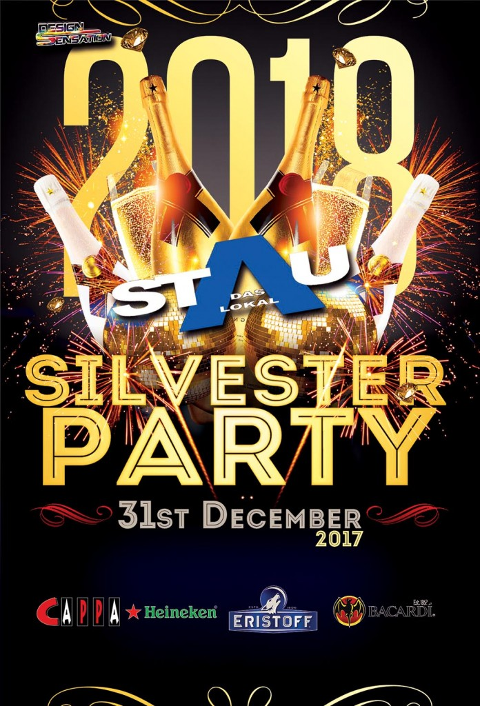 Silvester Party Stau2018_ohne_Aktionen